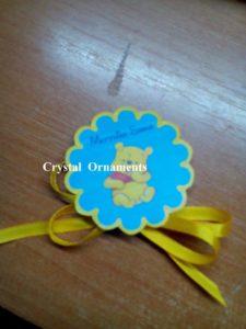 Botez Crystal Ornaments